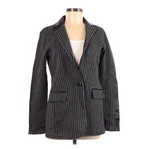 RALPH LAUREN Houndstooth Blazer Jacket sz M NEW
